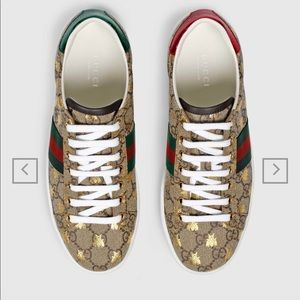 Auth* New Gucci Sneakers w/ Bees🐝